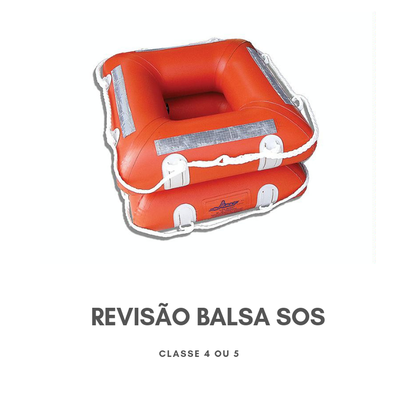 products revisao balsa sos - Revisão Balsa SOS - Classe 4 e 5